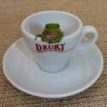 Frog in Espresso Cup