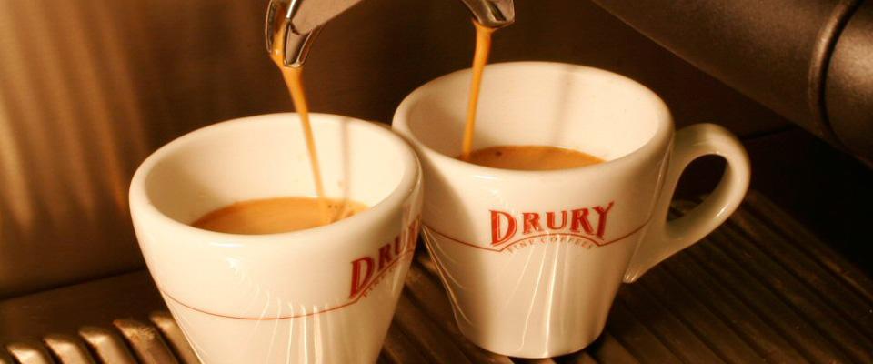 Drury Espresso machines