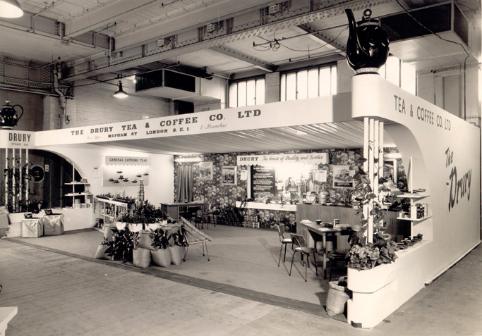Drury at Hotel & Catering exhibition, Olympia 1962