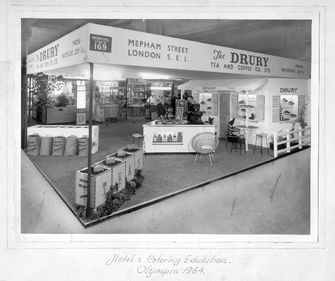 Drury at Hotel & Catering exhibition, Olympia 1964