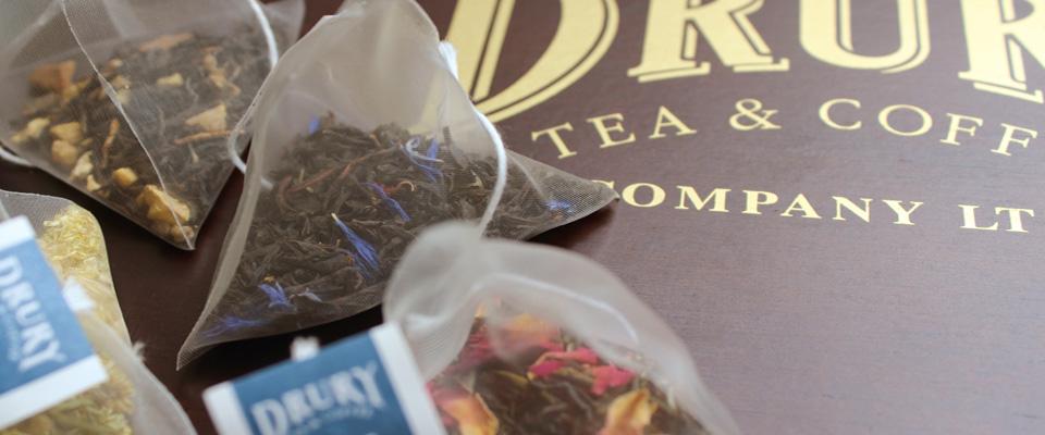 Drury pyramid tea bags
