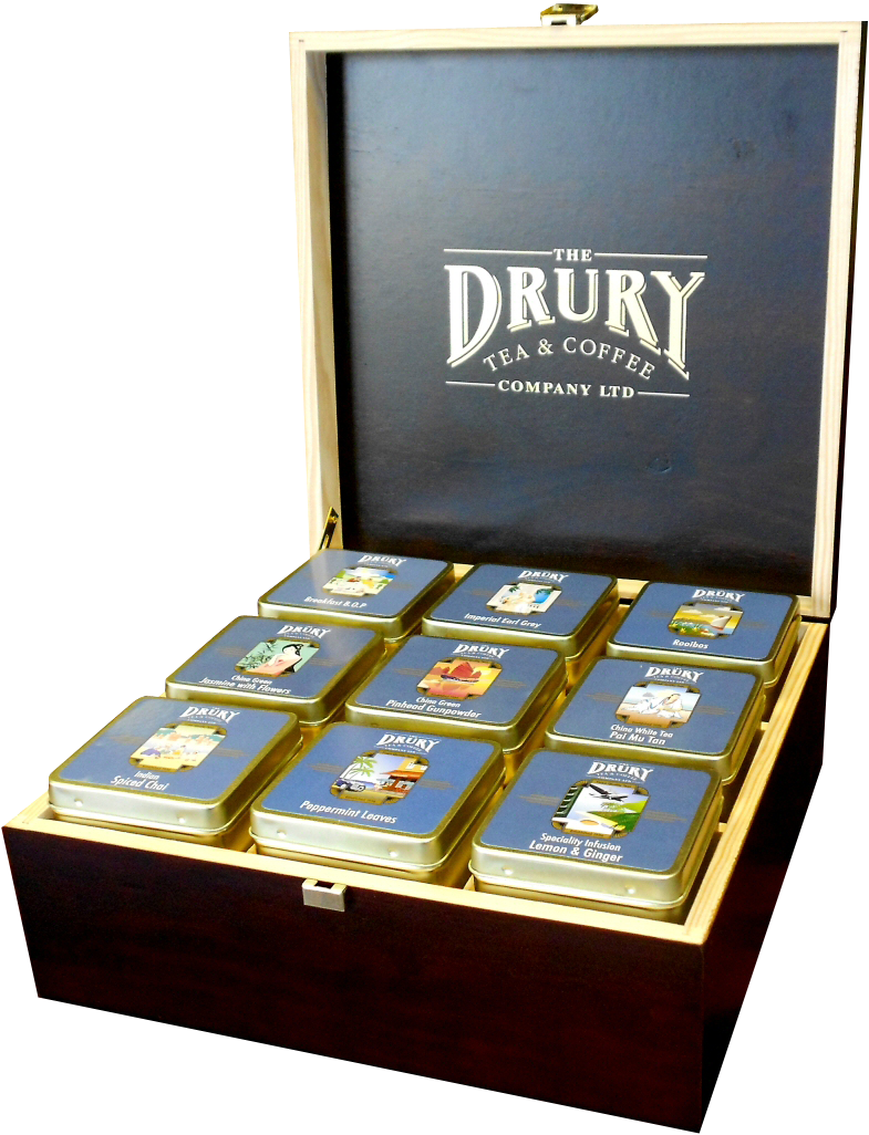 Drury 9 Compartment Pyramid Display Box