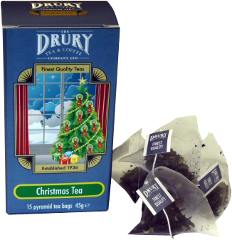 Drury pyramid summer christmas tea bags