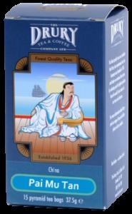 Drury Pyramid Pai Mu Tan Tea Bag