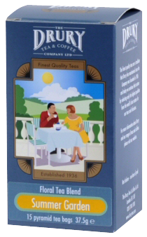 Drury pyramid summer garden tea bags