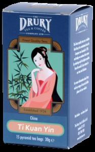 Drury Ti Kuan Yin Pyramid Tea Bags