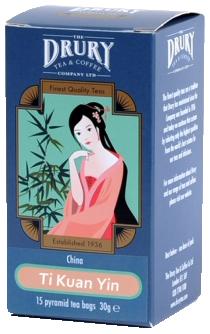 Drury Pyramid Ti Kuan Yin Tea Bag