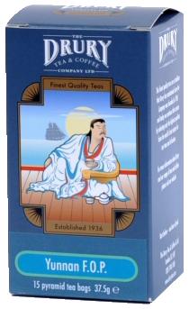 Drury pyramid Yunnan tea bag