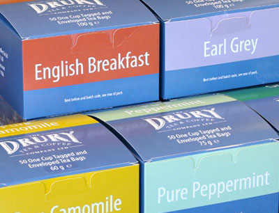 Drury teabags