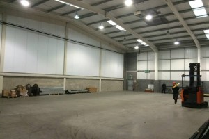 Space for our new roasting plant