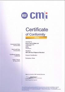 CMi Certification 2012-2013