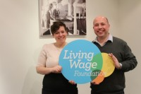 Drury Celebrates London Living Wage commitment