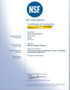 CMi Certification 2017-2018